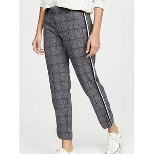 Sundry Plaid Clean Straight Trousers Stripe 26 NWT